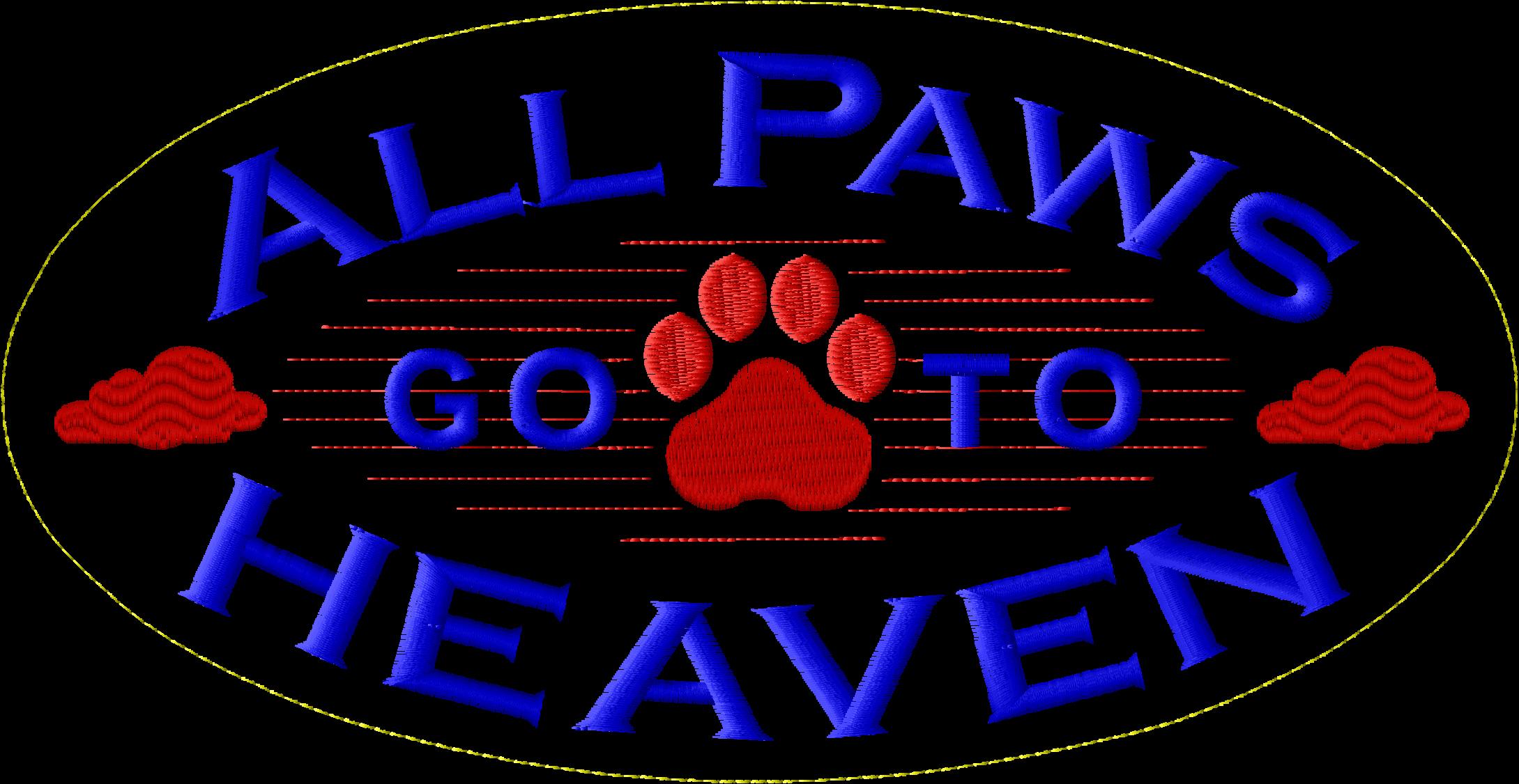 AllPawsAll Paws Go To Heaven